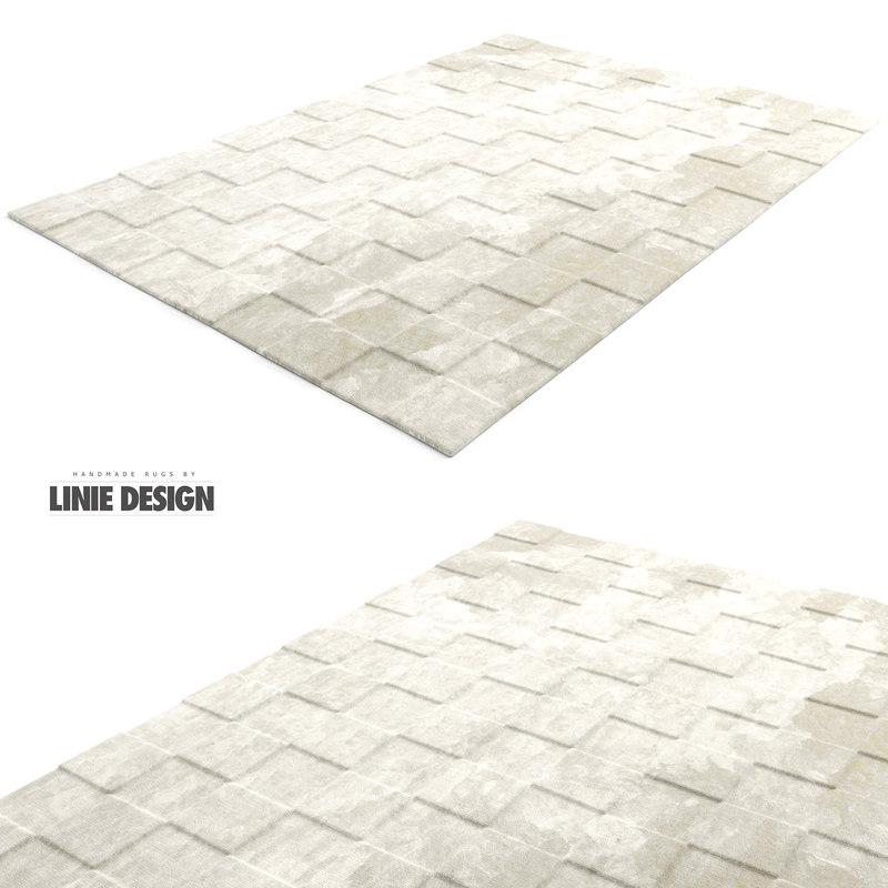 max liniedesign rug luzern white
