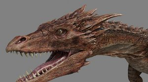 3d dragon model