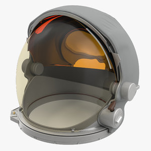 3d nasa space helmet 2