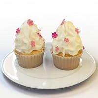 cupcake 43 3d max