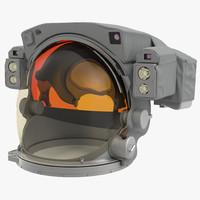 nasa space helmet 3d 3ds