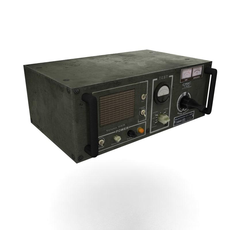transmitter radio obj