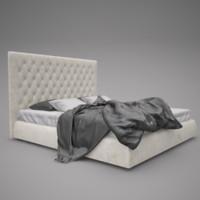 bonaldo bed 3d max