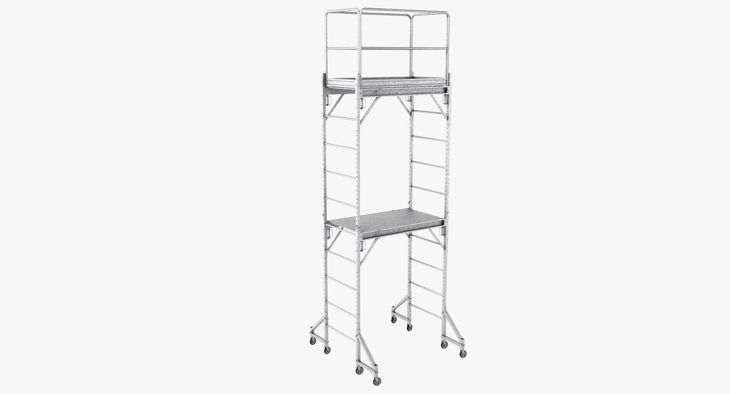 scaffold realistic 3d max