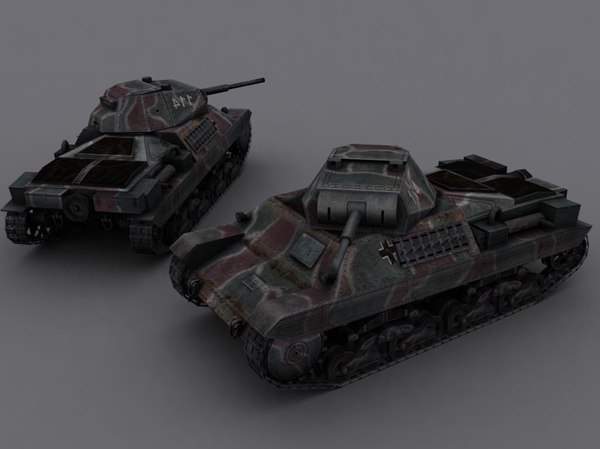 3ds max carro armato p26-40