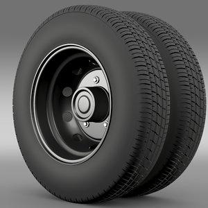 ashok leyland wheel 3ds