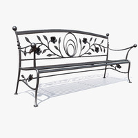 max forged metal bench