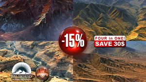 3d mountains landscapes discount