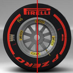 pirelli tyre 3ds