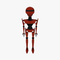 robot android obj