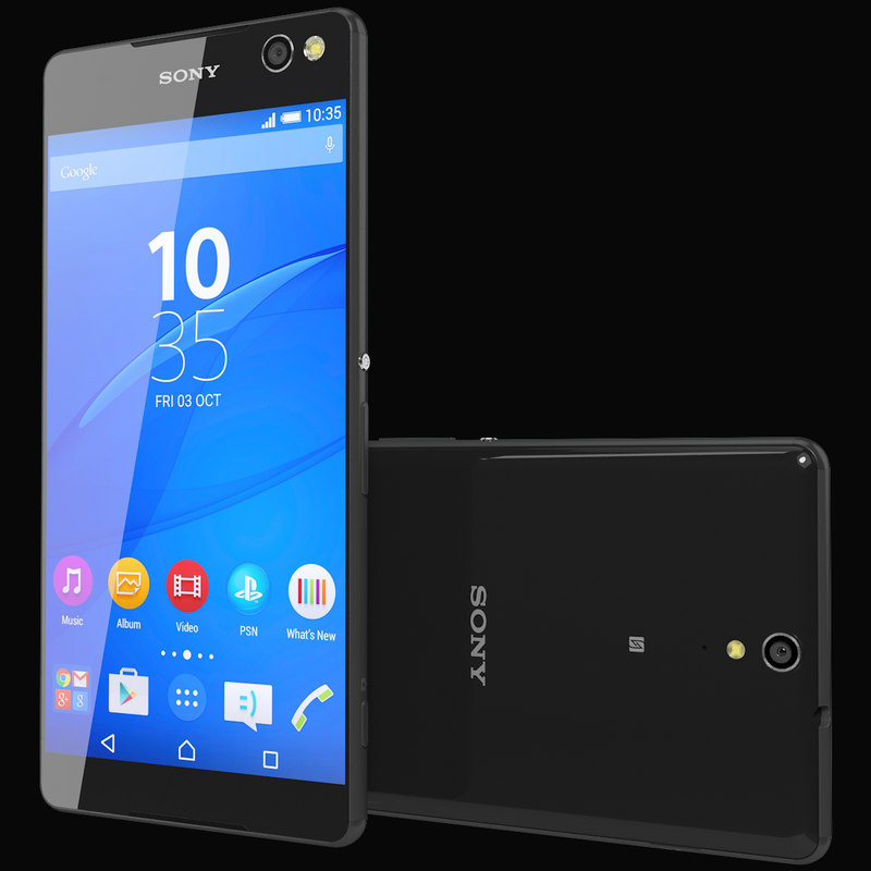 3ds realistic sony xperia c5