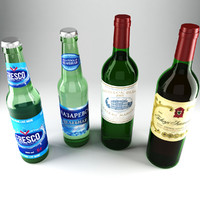 3ds max mineral water