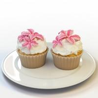 3d max cupcake 44