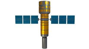 basic kosmos 3d model
