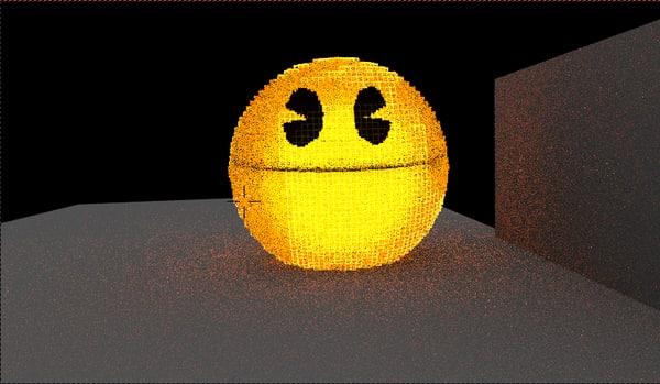 blend pacman pixel