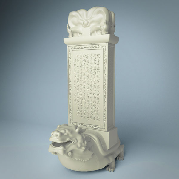 stone tablet 3d max