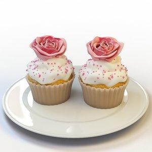 cupcake 45 3d max