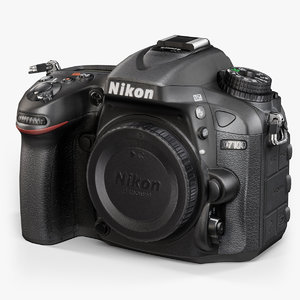 low-poly nikon d7100 black max