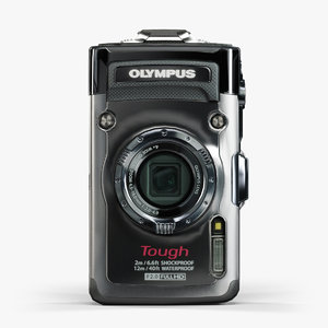 olympus tough tg-1 ihs 3d model