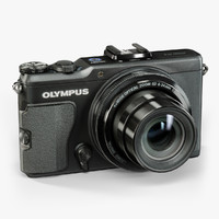 3d low-poly olympus xz-2 ihs model