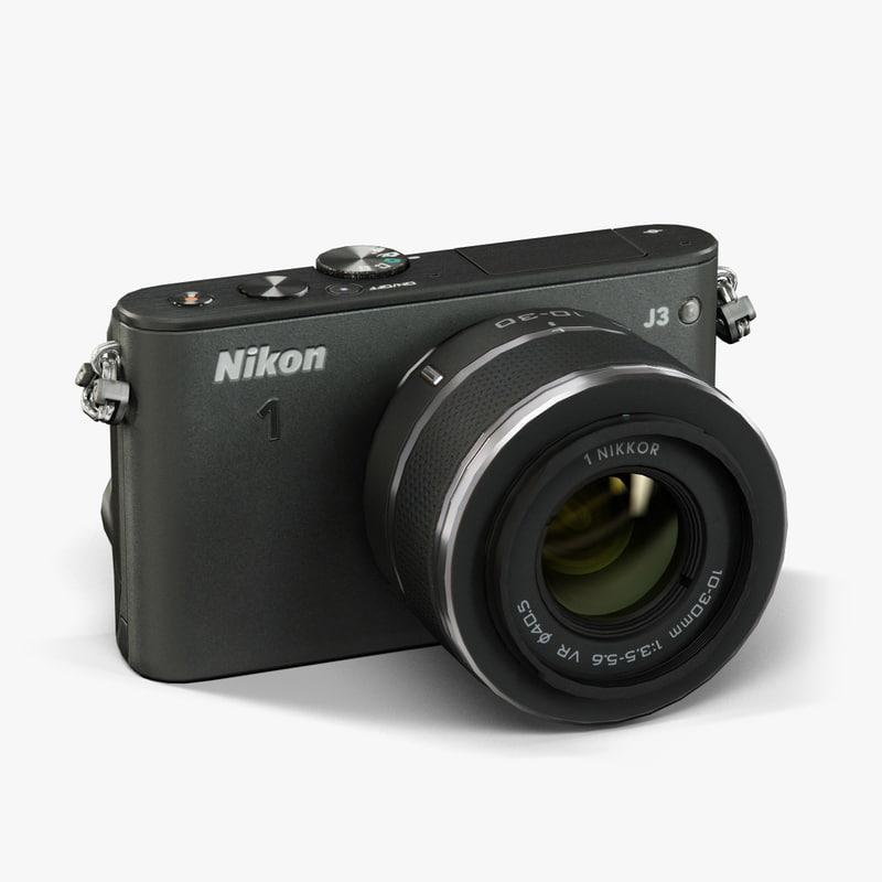 3ds max nikon 1 j3 10-30mm