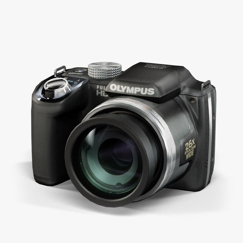 max low-poly olympus sp-720uz black
