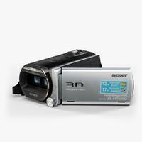 sony handycam hdr-td20v black 3d model