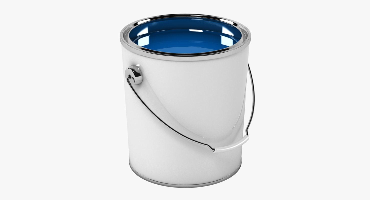 3d paint bucket