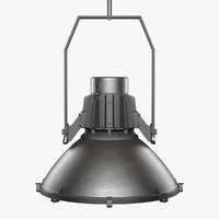 3d model dry-dock pendant lamp