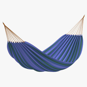 hammock 4 modeled 3d c4d