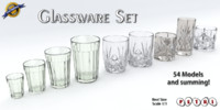 Glassware - Glass set