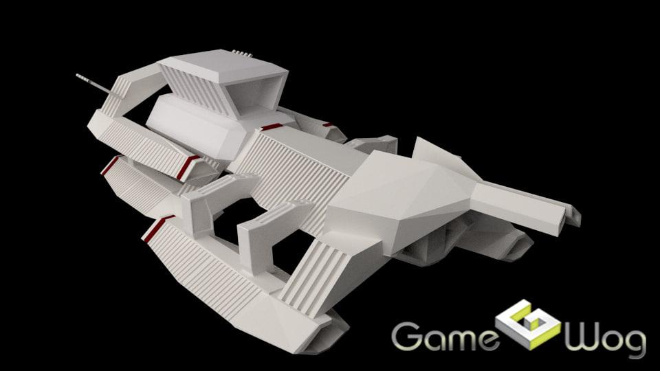 3ds sci-fi ship sci