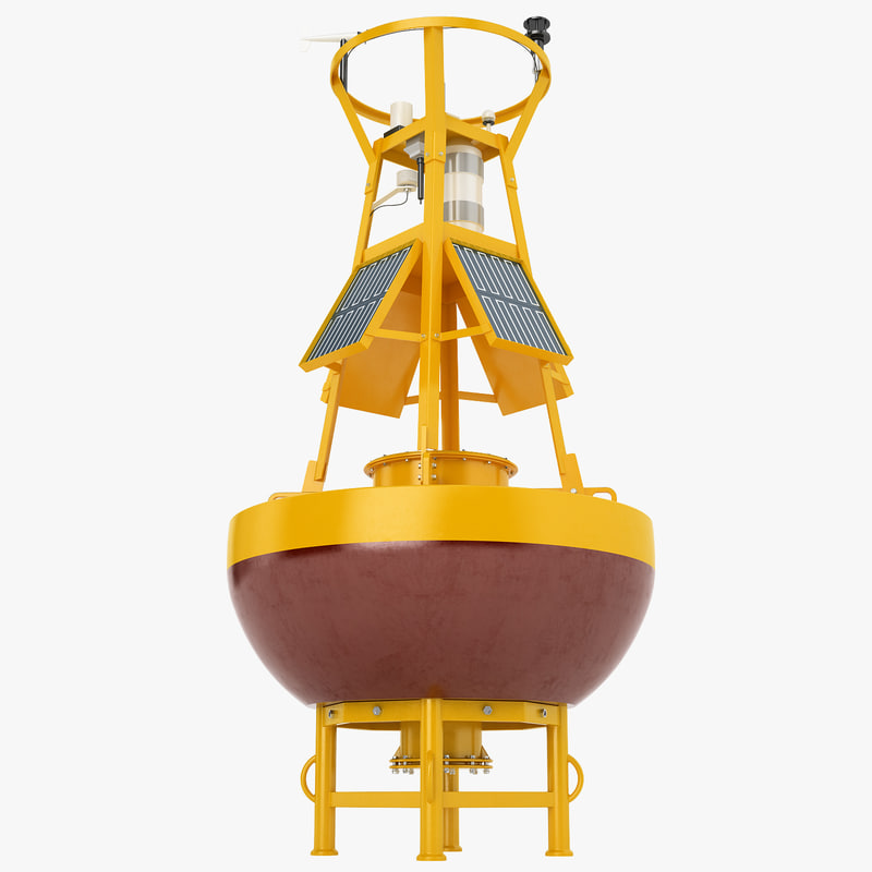 3d model buoy monitoring information