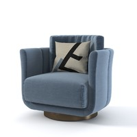 Fendi Casa ARTU Small Armchair