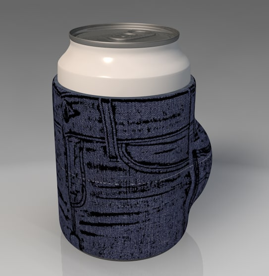 3ds max cozie cup holder