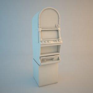 3d las vegas slot machine model