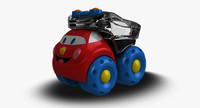 truck toy 3d model