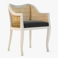 tayabas cane chair 3ds