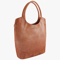 Handbag Jannissima Eco Leather Cognac