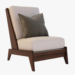 andre sornay lounge 3d model