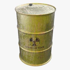 nuclear barrel obj
