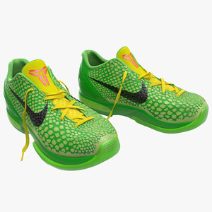 3d model sneakers nike zoom modeled