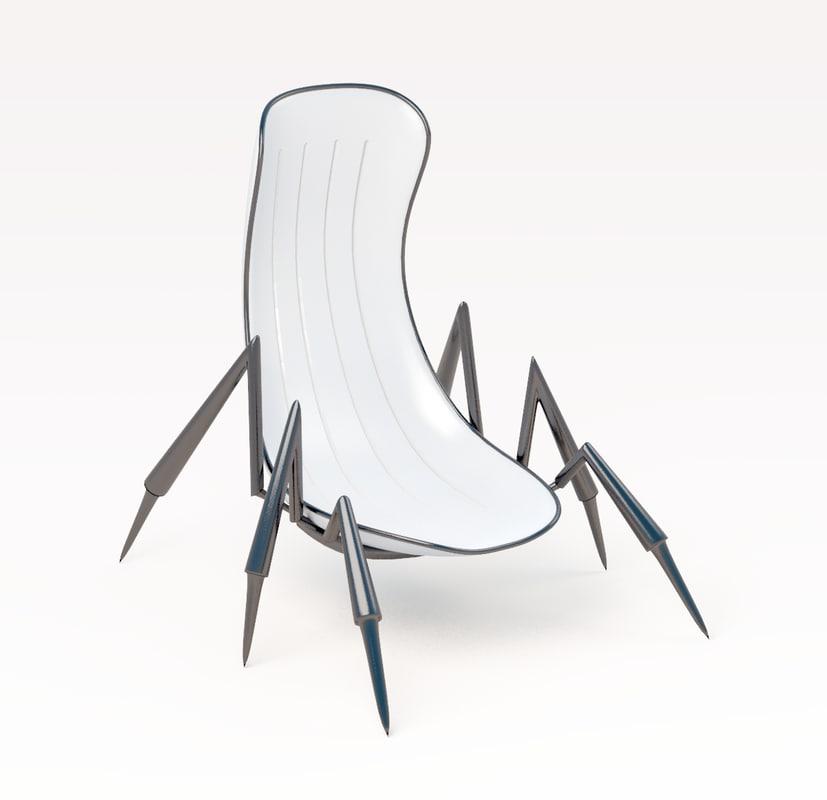 Scorpion Chair 3d Max