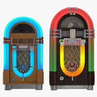 Jukeboxes 3D Models Collection