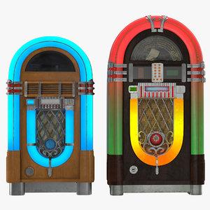 3d jukeboxes modeled