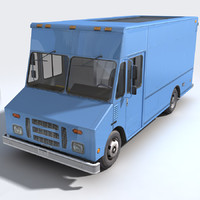 3d step van generic model