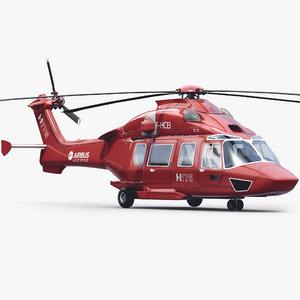 3d eurocopter ec-175 black