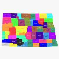 North Dakota Counties