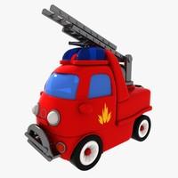 truck toon 3d model