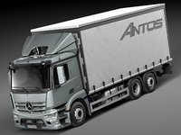 Mercedes-Benz Antos Box 2015